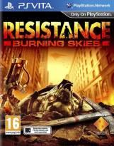 resistance burning skies-Cover