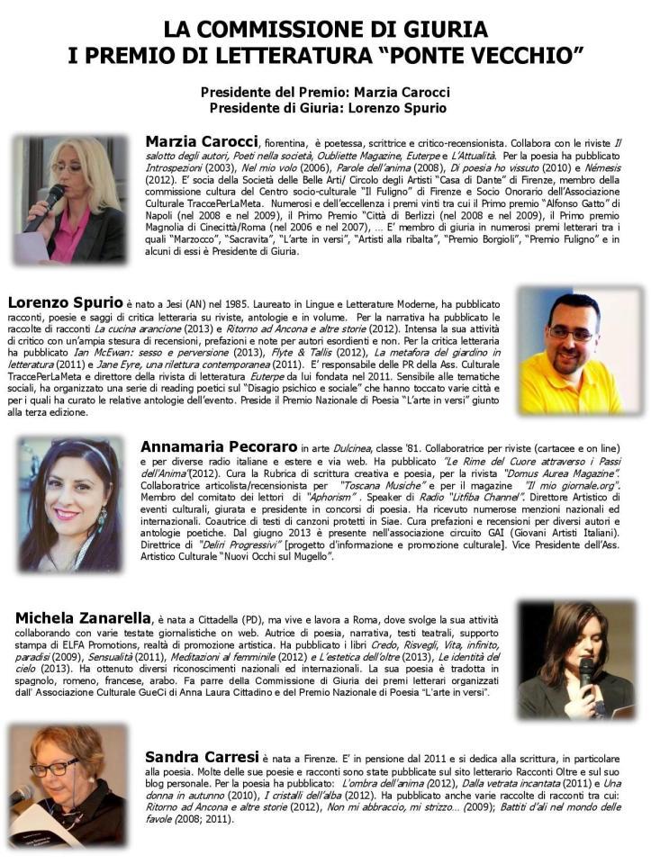 la commissione di giuria del premio Ponte Vecchio-page-001