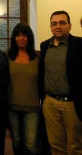 Firenze, Aprile 2014 - Assieme a Rosaria Minosa