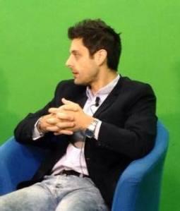 L'autore del libro, Alessio De Luca