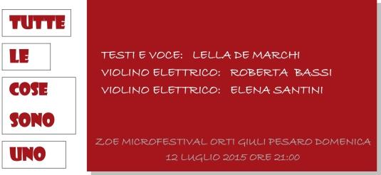INVITO ZOE MICROFESTIVAL 2015