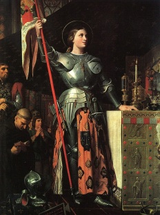 Giovanna D'Arco, opera di Ingres