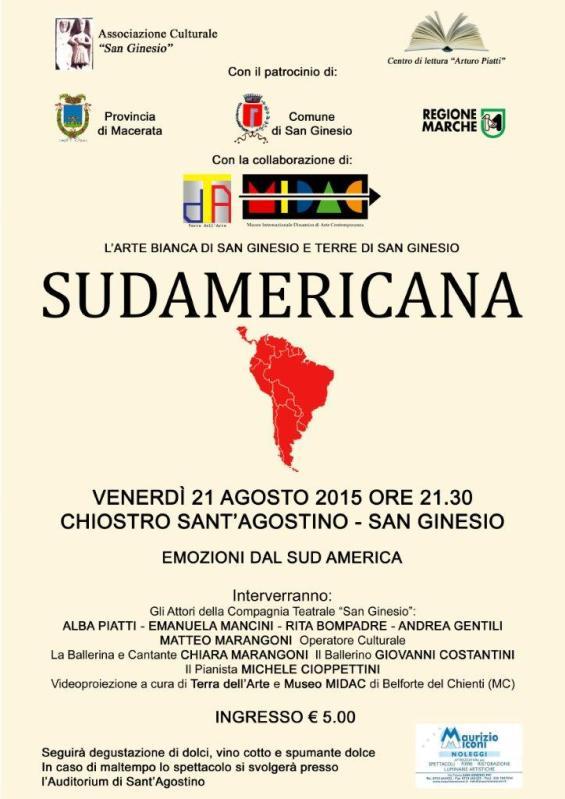 locandina Sudamericana 2015
