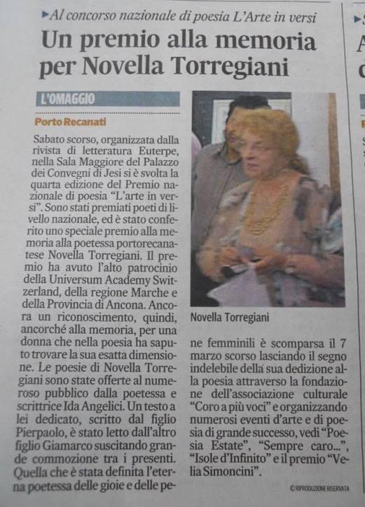 Dal Corriere Adriatico del 17-11-2015