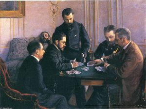 Gustave-Caillebotte-The-Bezique-Game-S