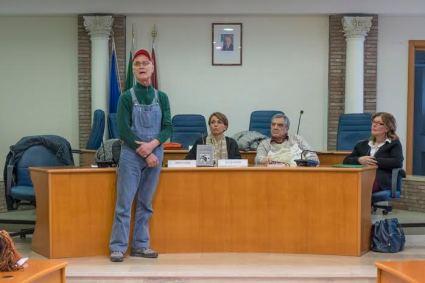 Nella foto in piedi a sinistra Silvio Parrello
