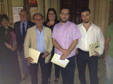 Da sx: Daniela Benigni, Sergio Camellini, Gaetano Catalani, Annalena Cimino, Lorenzo Spurio, Paolo Muccio