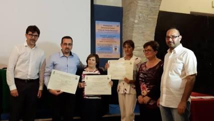 Lorenzo Spurio, Rosanna Di Iorio, Susanna Polimanti e la famiglia Pigliacampo