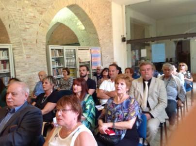Il pubblico presente in sala
