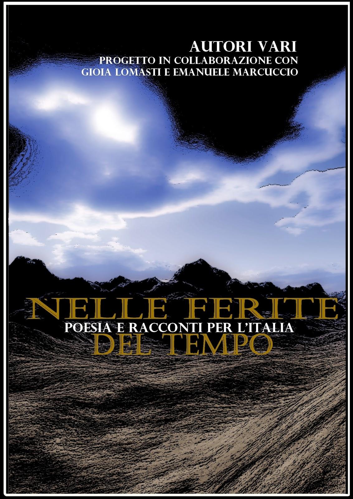 """Pubblicata l'antologia """"Nelle ferite del tempo"""" a sostegno dei terremotati"""
