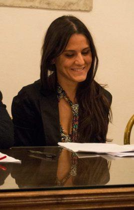 la scrittrice italiana Serena Maffia