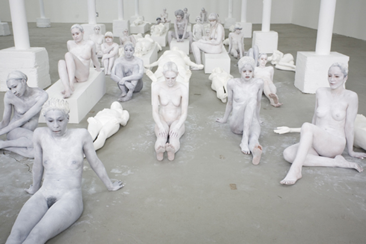 VB64; Vanessa Beecroft; Deitch Projects
