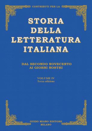 Storia della Letteratura Italiana 4°vol. [fronte]